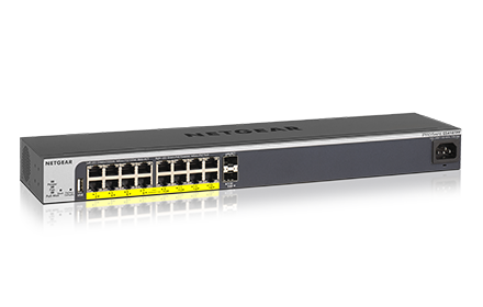 GS418TPP Switch PoE+ 16 ports Gigabit
